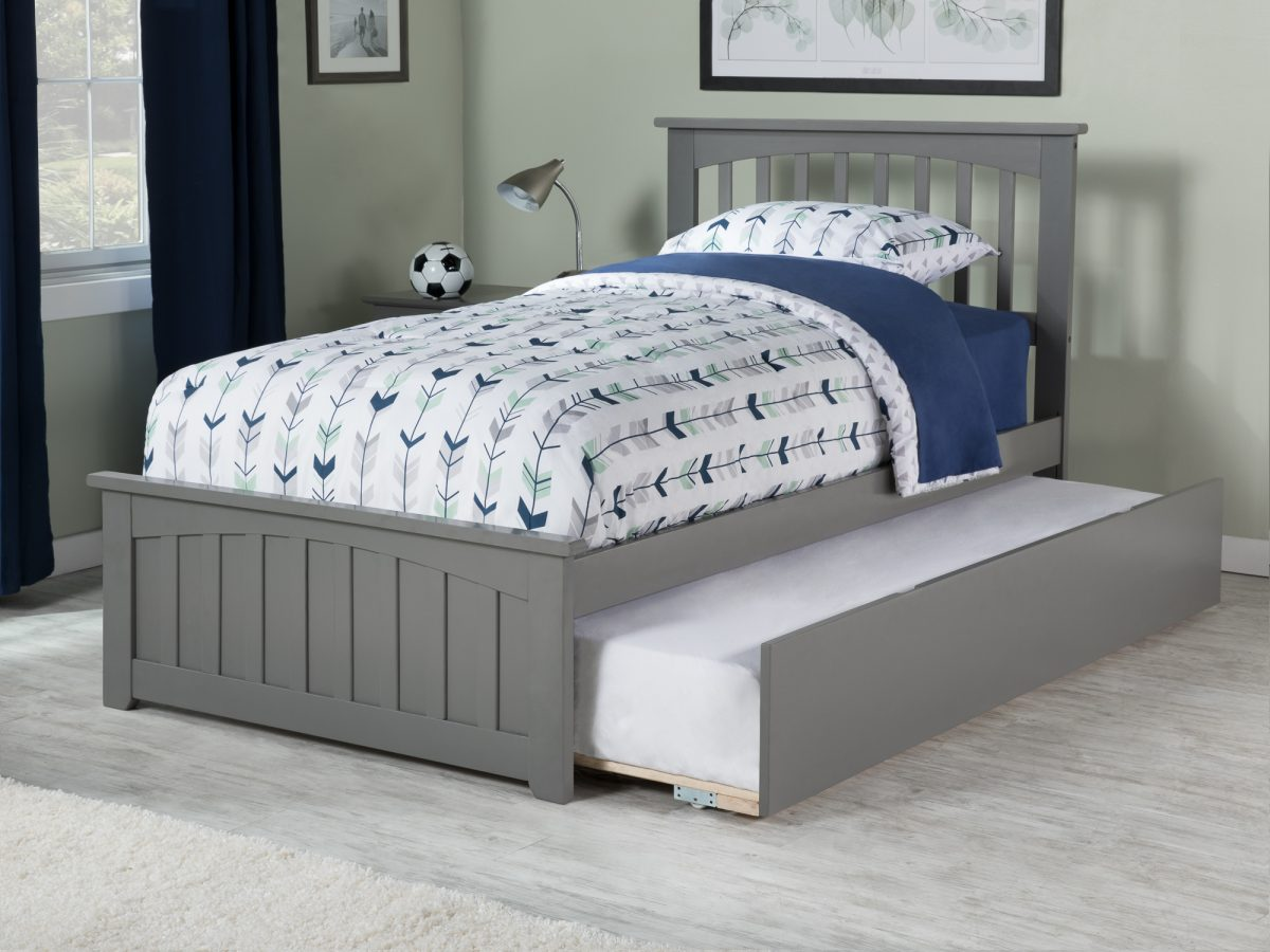 Mission Matching Footboard Trundle Bed  Atlantic Furniture