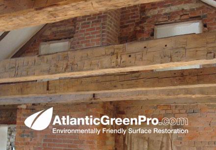 Cleaning Wood Ceilings