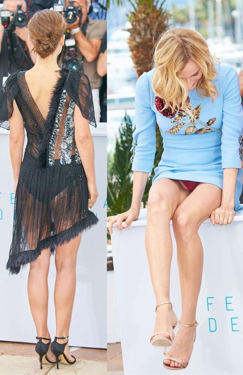 El vestido de Natalie Portman y el descuido de Diane