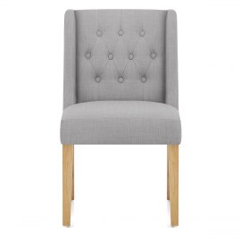 gray kitchen chairs free standing dining at great prices atlantic shopping chatsworth oak chair grey