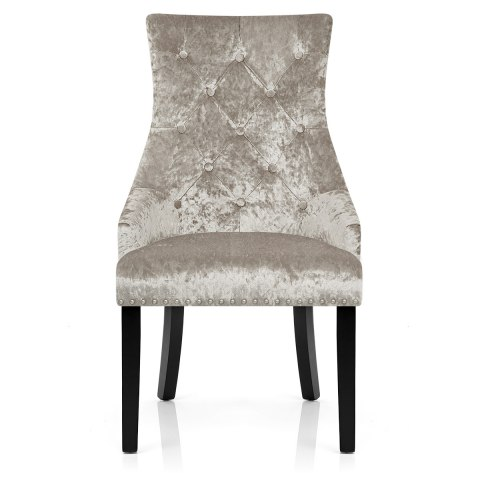 4 chair dining table designs space saver high cover ascot mink velvet - atlantic shopping