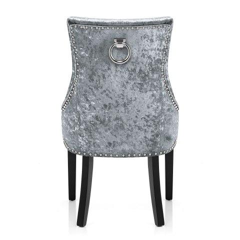 grey upholstered dining chairs uk vinyl to cover ascot chair velvet - atlantic shopping