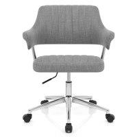 Skyline Office Chair Grey Fabric - Atlantic Shopping