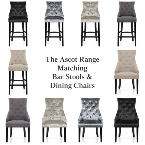 stylish office chairs uk chair jamaica ascot bar stool grey velvet - atlantic shopping