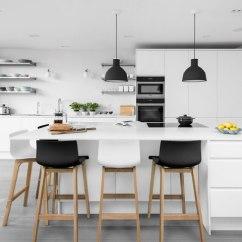 Kitchen Bar Chairs Tiled Countertops Drift Oak Black Stool Atlantic Shopping