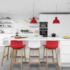 Stools For Kitchen Sink Mat Drift Oak Red Bar Stool Atlantic Shopping