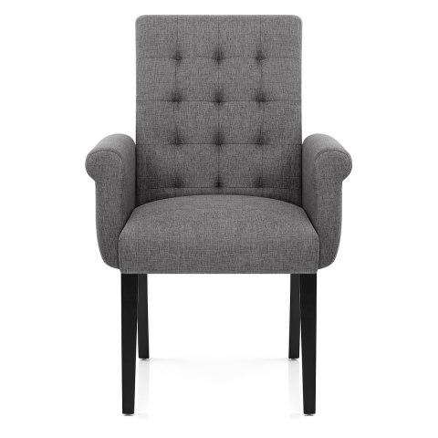 Packwood Dining Chair Grey Fabric  Atlantic Shopping