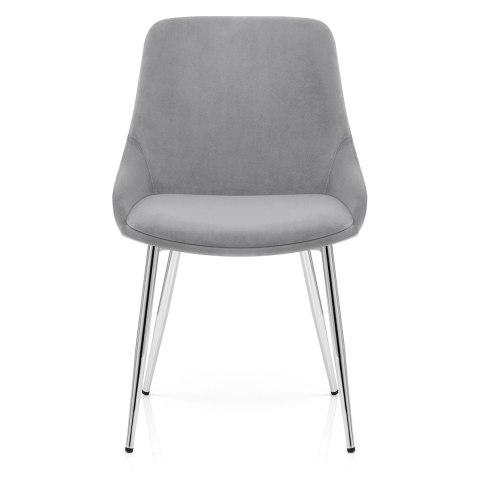 grey dining chairs gray bedroom chair rail aston velvet atlantic shopping