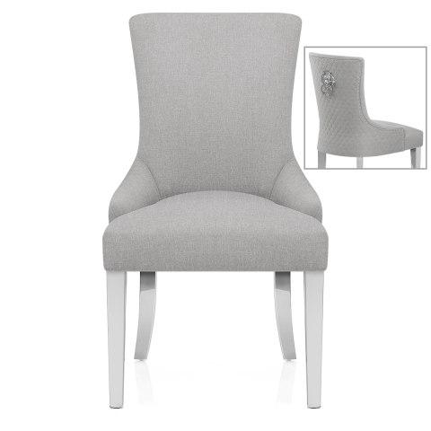 light grey chair rainforest spacesaver high fontaine fabric atlantic shopping