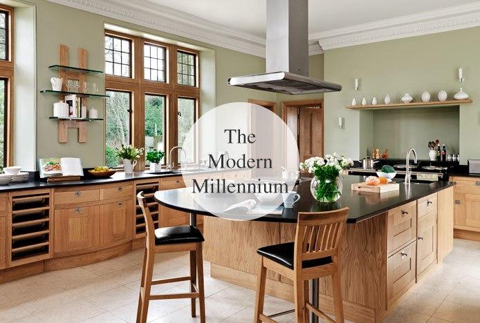 Kitchen Decades Through Styles