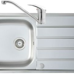 Single Bowl Stainless Kitchen Sink Interactive Design Humber Steel With Finesse Tap Atlantic Zoom
