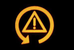 Traction Control Malfunction Symbol