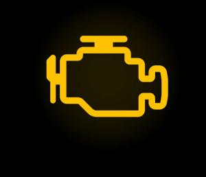 Engine Warning Symbol