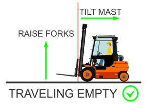 safe forklift operation