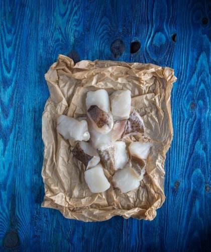 Μπακαλιάρος cod υδράλατος μπουκιές