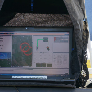 T=8 hours, monitoring the aircraft and its energy generation and storage system. Batteries are fully charged here.
