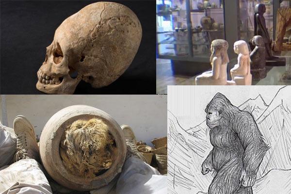 Beberapa penemuan arkeologi yang tidak wajar