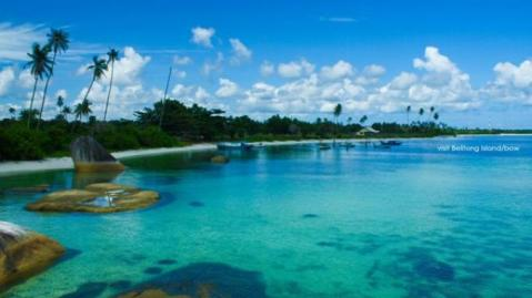 Pantai Tanjung Kelayang Belitung, lebih indah dr …