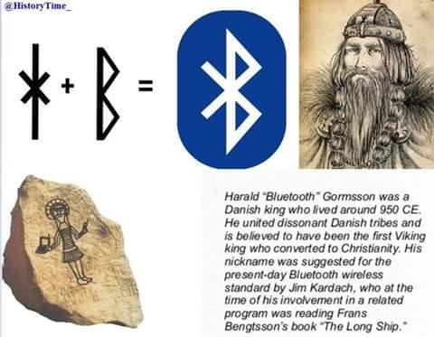 Kata yg brasal dr nama raja viking (?)