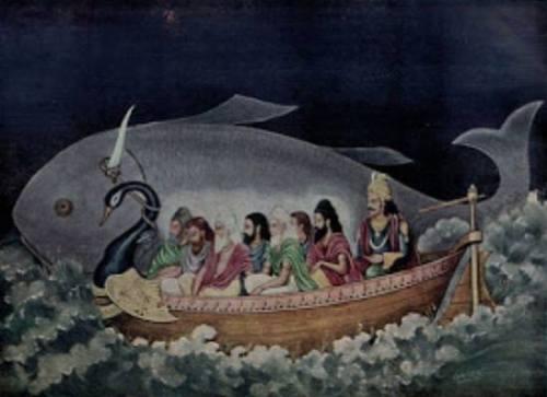Simbolisme Ikan Matsya dan Manu, Mitologi Asal …