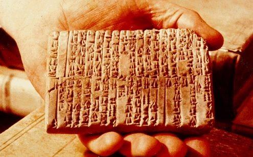 Misteri Tablet Ebla. …