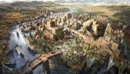 Kebangkitan, Keruntuhan Sumeria dan Akkadia. …