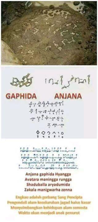 Makna temuan Prasasti Piramida Sadahurip Garut …