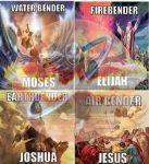 Mungkin dahulu mereka adalah gurunya Avatar