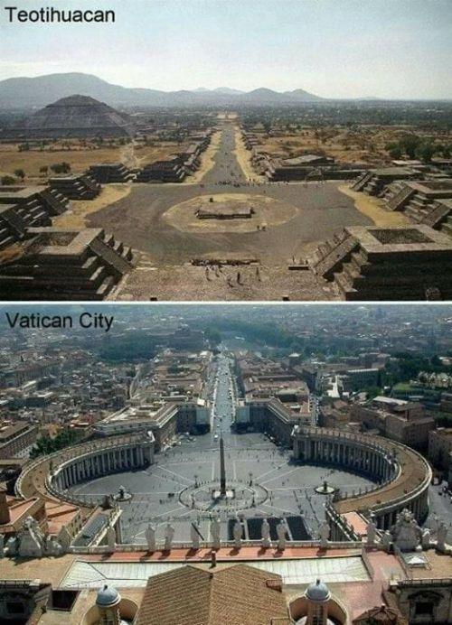 Ada kemiripan Landscape antara Kota kuno …