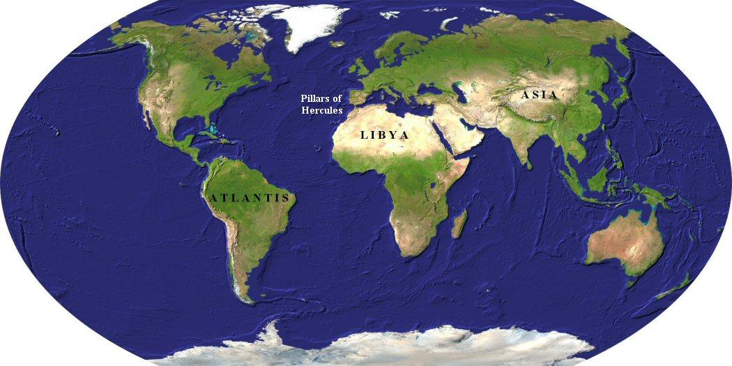 Atlantida mapa geosphere