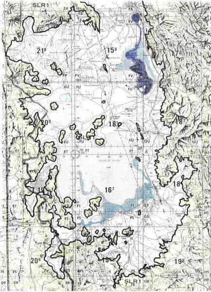 Altiplano mapa