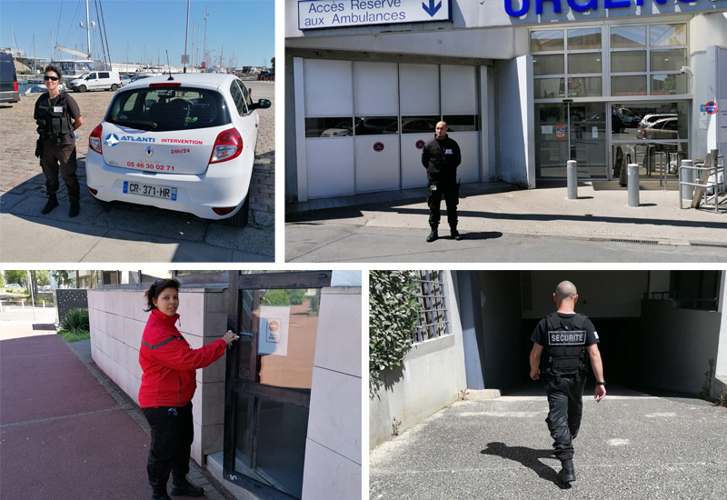 agents de sécurité en Charente Maritime