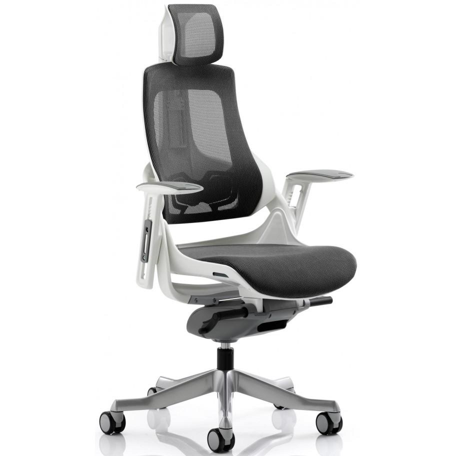 Zure Black Mesh Ergonomic Office Chair