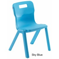 Titan AGES 13+ One Piece Classroom Chair