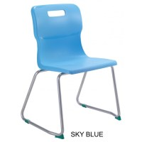 Titan AGES 7 - 9 Skid Frame Classroom Chair