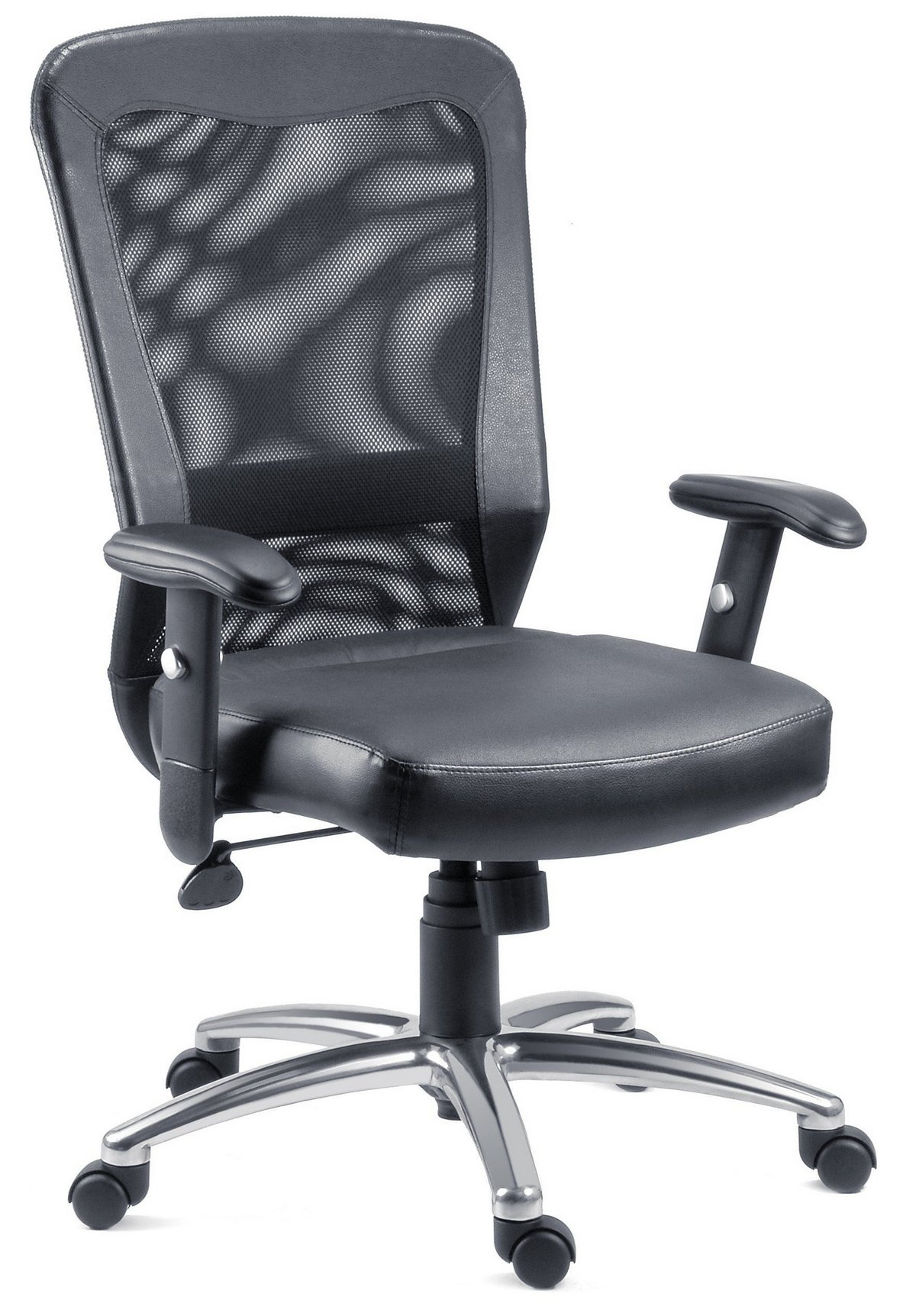 posture executive leather chair swivel office breeze contemporary