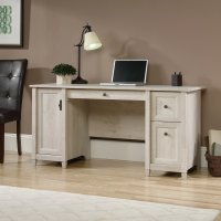 Chalked Wood Home Office Desk