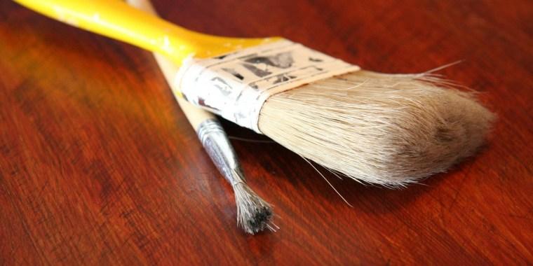 Peinture mate ou satinée