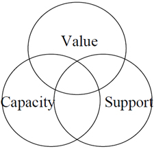 Kennedy School's Value-Capacity-Support Model