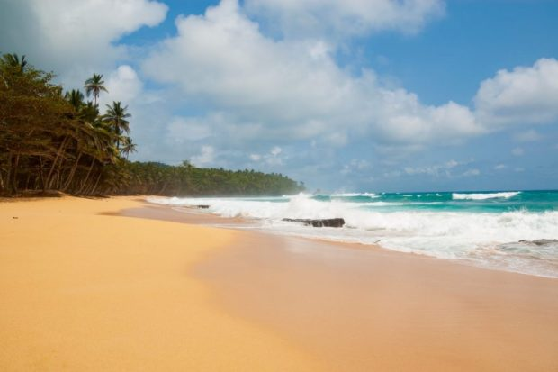 least visited countries in the world: sao tome