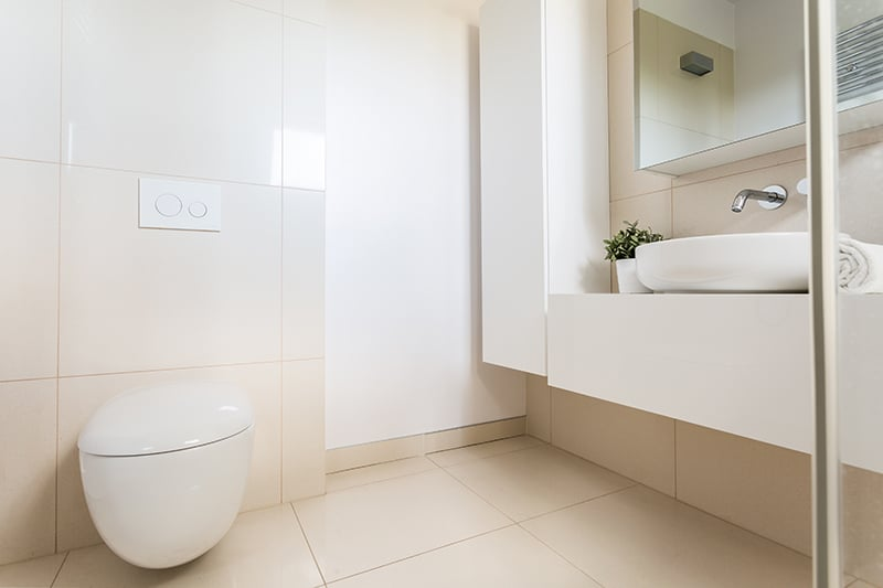 10 Tile Ideas For Small Bathrooms And Cloakrooms Tiling Advice