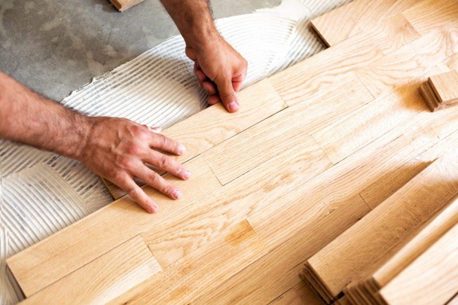 can i install tiles on hardwood floors