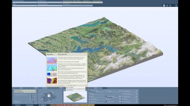 "3D Guided Tour: ""Mountains and valleys"""
