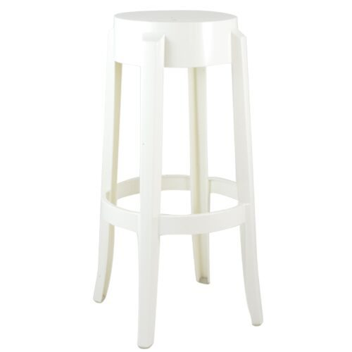 ghost bar chair therapy ball stool white chairs and seating rentals south florida