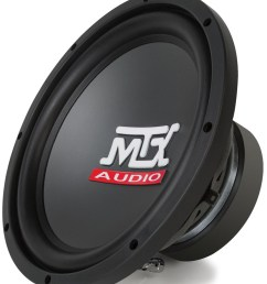 roadthunder rts10 44 10 inch 250w rms dual 4 ohm subwoofer rts10 44  [ 862 x 1000 Pixel ]