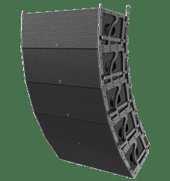 dual 12 3 way 3600 watt powered large format line array loudspeaker atlasied [ 1800 x 1800 Pixel ]