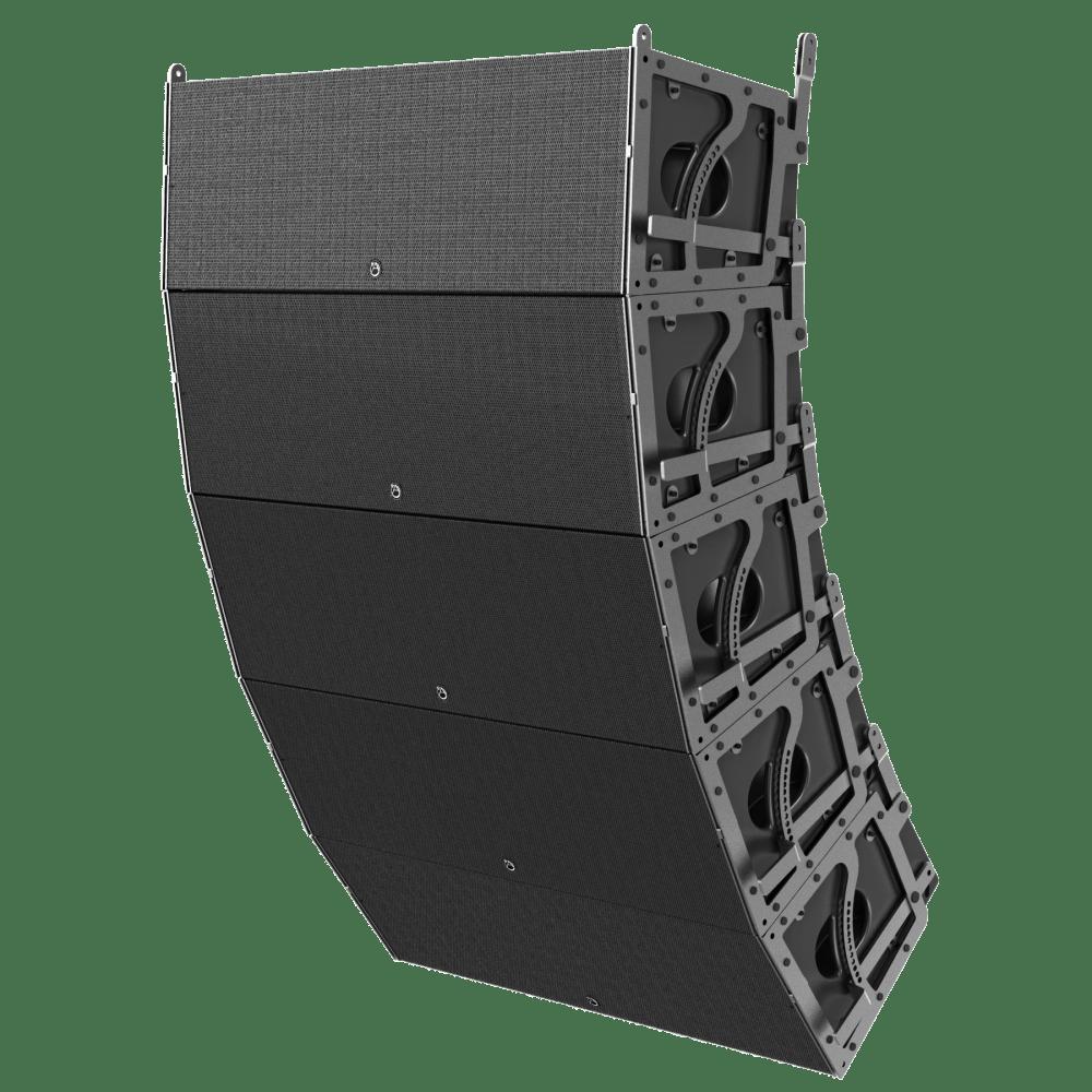 medium resolution of dual 12 3 way 3600 watt powered large format line array loudspeaker atlasied