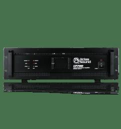 2 channel 700 watt 70v 100v 8 4 commercial audio power amplifier atlasied [ 1800 x 1800 Pixel ]
