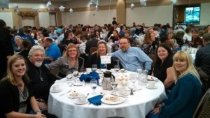 Atlas staff at Ability Building Center banquet