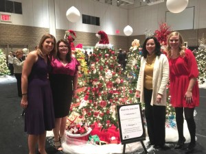 Atlas Employees with Festival of Trees Submission